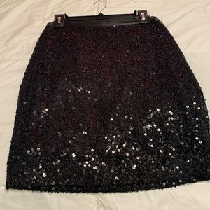 Sequence skirt black from Sak's Fifth Avenue